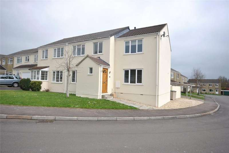 4 Bedrooms Semi Detached House for sale in John Gunn Close, Chard, Somerset, TA20