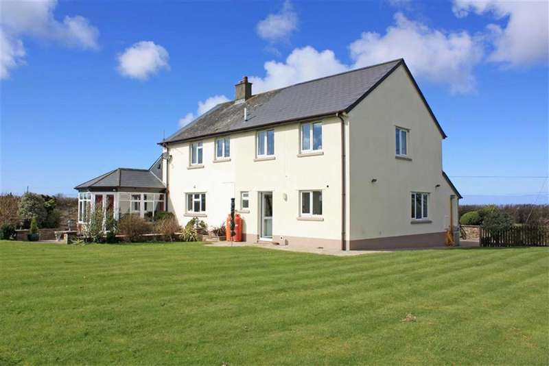 4 Bedrooms Detached House for sale in Beckland, Hartland, Bideford, Devon, EX39