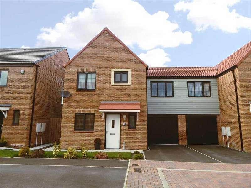 3 Bedrooms Semi Detached House for sale in Walkerfield Court, Walkerdene, Newcastle Upon Tyne, NE6