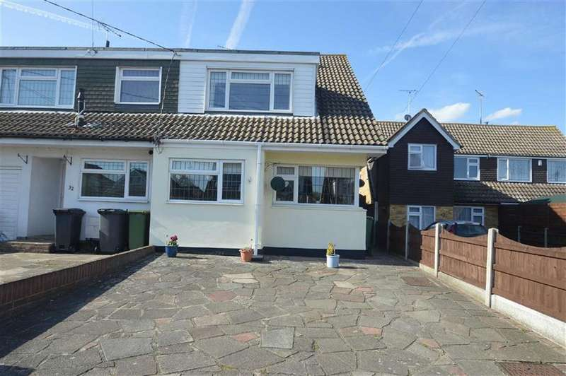 4 Bedrooms Semi Detached House for sale in Alexandra Road, Ashingdon, Essex