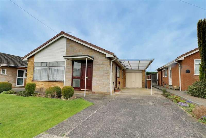 3 Bedrooms Detached Bungalow for sale in Sundale Drive, Woolstanwood, Crewe