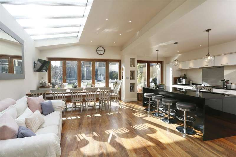 5 Bedrooms Semi Detached House for sale in Birdhurst Road, London, SW18