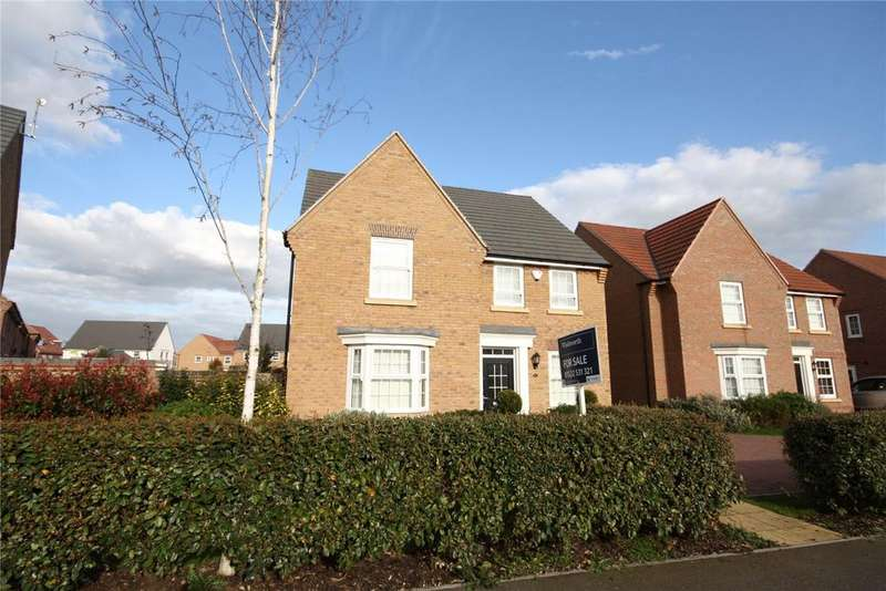 4 Bedrooms Detached House for sale in Tiber Road, North Hykeham, Lincoln, Lincolnshire, LN6