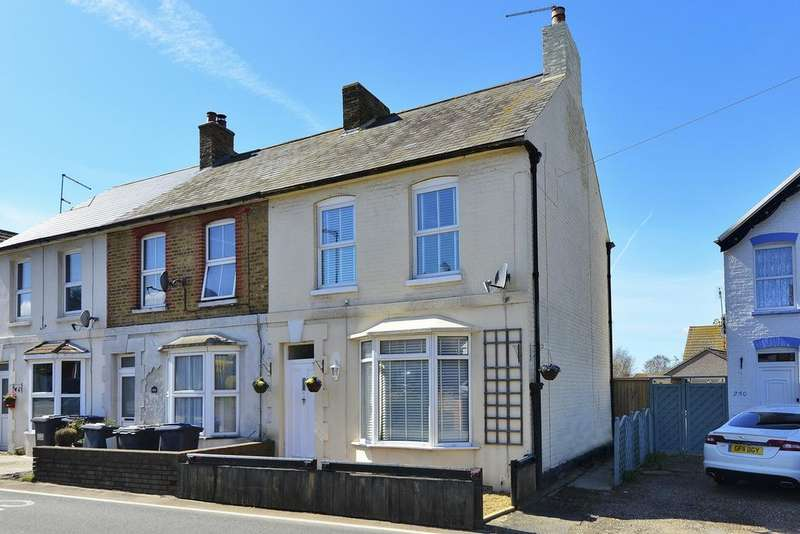 2 Bedrooms Semi Detached House for sale in Canterbury Road, Herne Bay, Kent