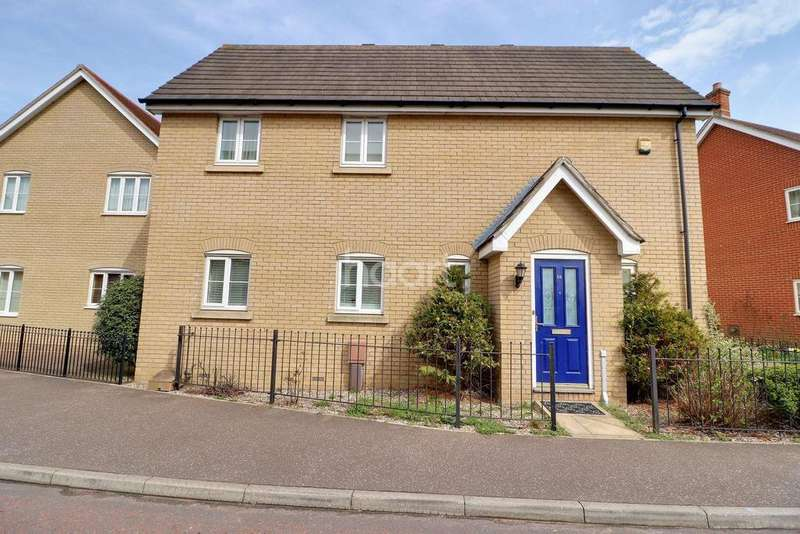 4 Bedrooms Detached House for sale in Avitus Way, Colchester , CO4