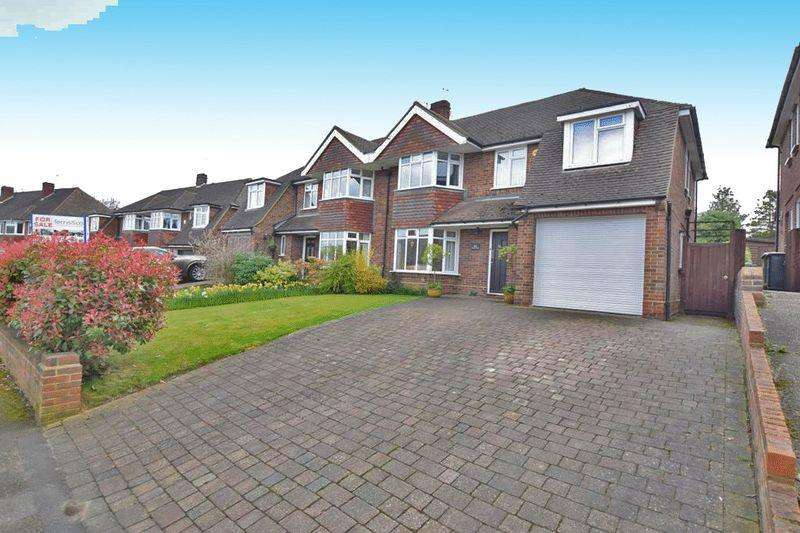 5 Bedrooms Semi Detached House for sale in Boxley Road, Maidstone