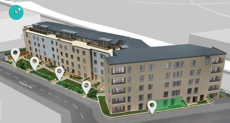 2 Bedrooms Flat for sale in Plot 37, Marionville Road, Edinburgh