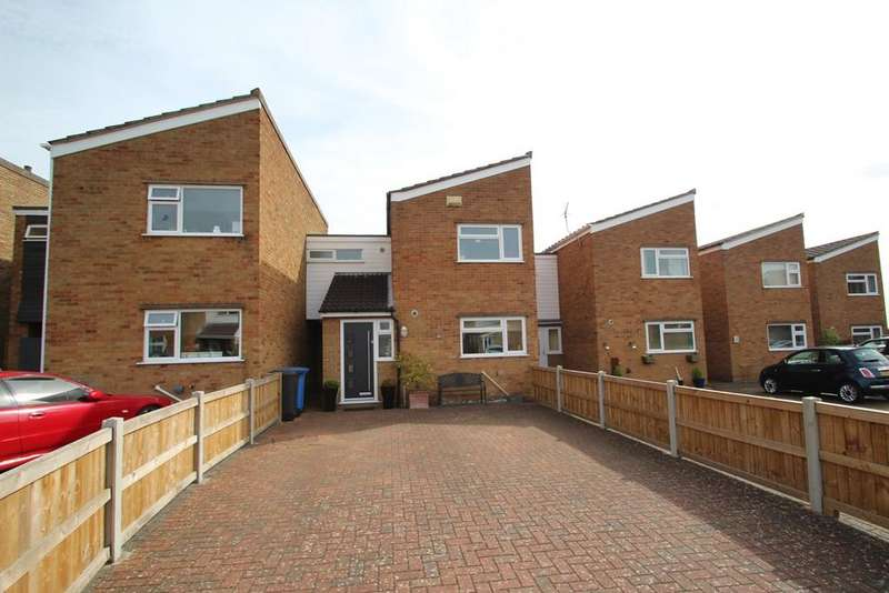 3 Bedrooms Link Detached House for sale in Tintern Close, Ipswich, IP2