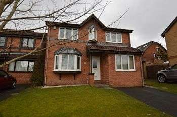 4 Bedrooms Detached House for rent in Regents View, Blackburn