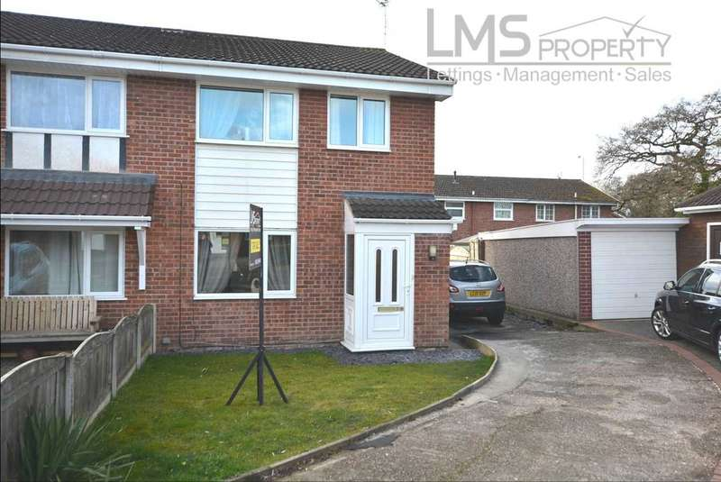 3 Bedrooms Semi Detached House for sale in Norman Drive, Winsford