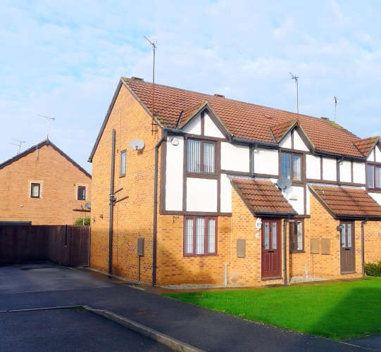 2 Bedrooms End Of Terrace House for rent in Wisteria Way, Howdale Road, Hull, HU8