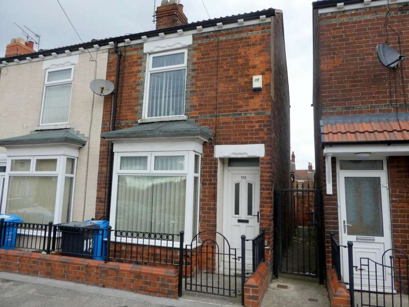 2 Bedrooms End Of Terrace House for sale in Belmont Street, Hull, HU9