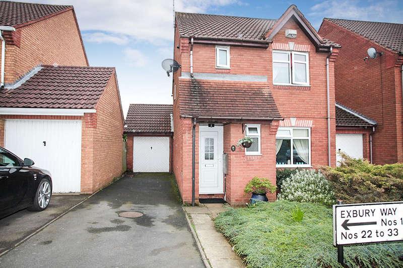 3 Bedrooms Detached House for sale in Exbury Way, Nuneaton, CV11