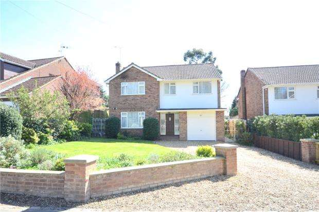 4 Bedrooms Detached House for sale in Harts Leap Road, Sandhurst, Berkshire