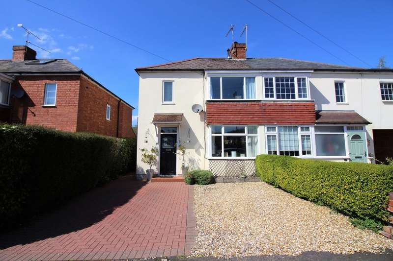 3 Bedrooms Semi Detached House for sale in Whitemoor Road, Kenilworth, CV8