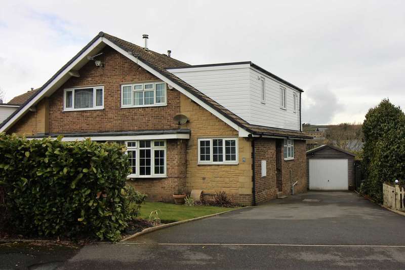 4 Bedrooms Semi Detached House for sale in Matthew Grove, Meltham