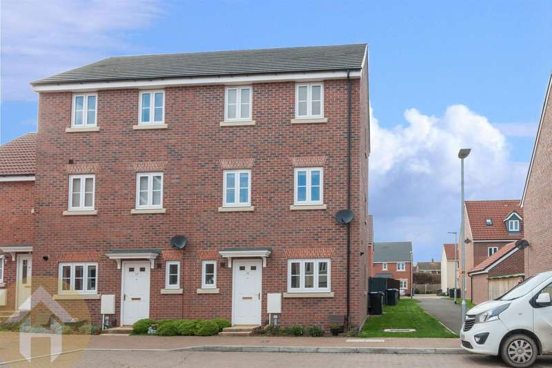 4 Bedrooms End Of Terrace House for sale in Cricketers Close, Royal Wootton Bassett
