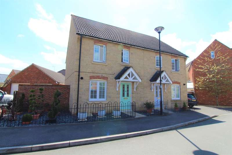 3 Bedrooms Semi Detached House for sale in White Eagle Road, Haydon End