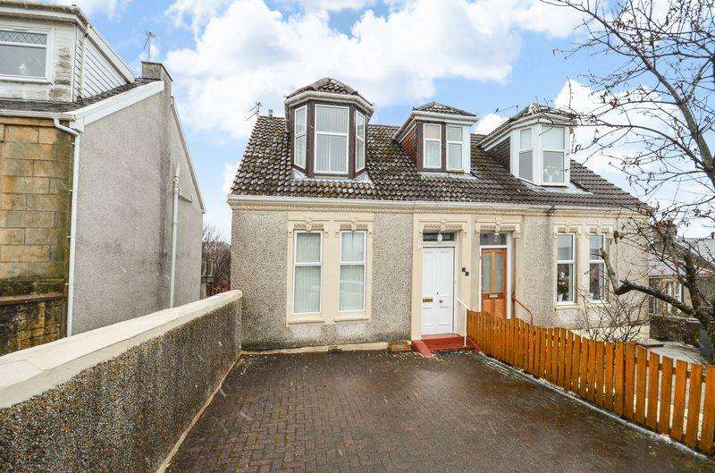 3 Bedrooms Semi Detached House for sale in High Barrwood Road, Kilsyth