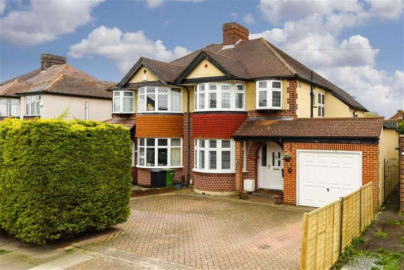 3 Bedrooms Semi Detached House for sale in Newbury Gardens, Epsom, Surrey