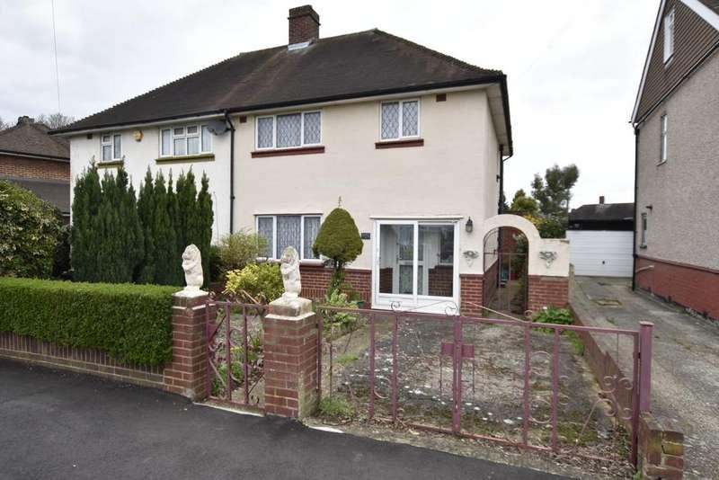 3 Bedrooms Semi Detached House for sale in Ellington Road, Feltham