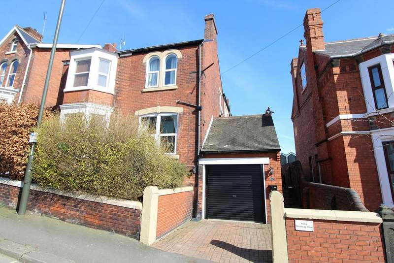 3 Bedrooms Semi Detached House for sale in Clarence Road, Chesterfield