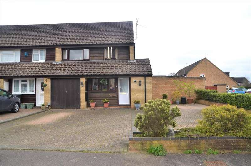 3 Bedrooms End Of Terrace House for sale in Tithebarn Grove, Calcot, Reading, Berkshire, RG31