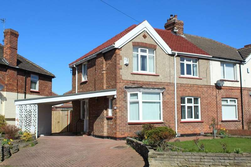 3 Bedrooms Semi Detached House for sale in Newlands Avenue, Norton, TS20