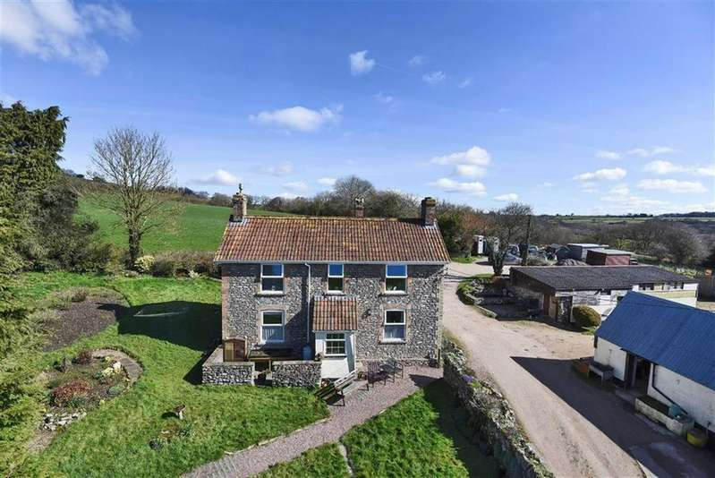 4 Bedrooms Detached House for sale in Buckland St Mary, Chard, Somerset, TA20