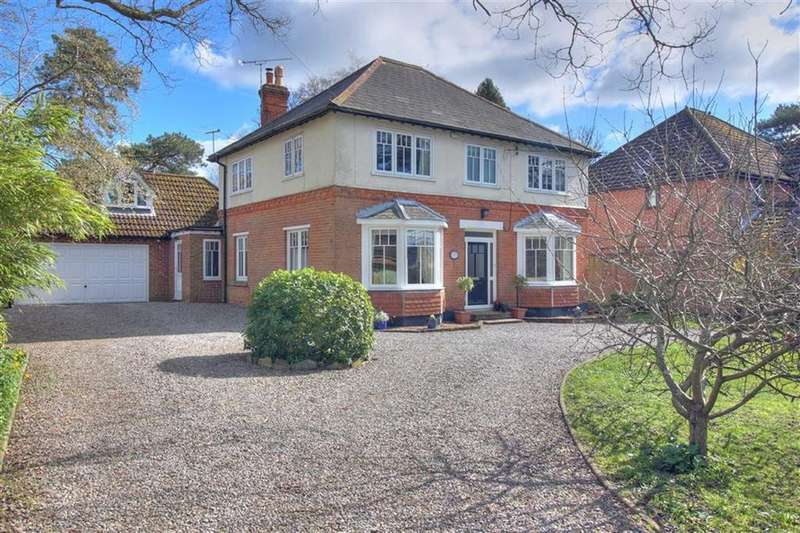 5 Bedrooms Detached House for sale in Pine Road, Hiltingbury, Chandlers Ford, Hampshire