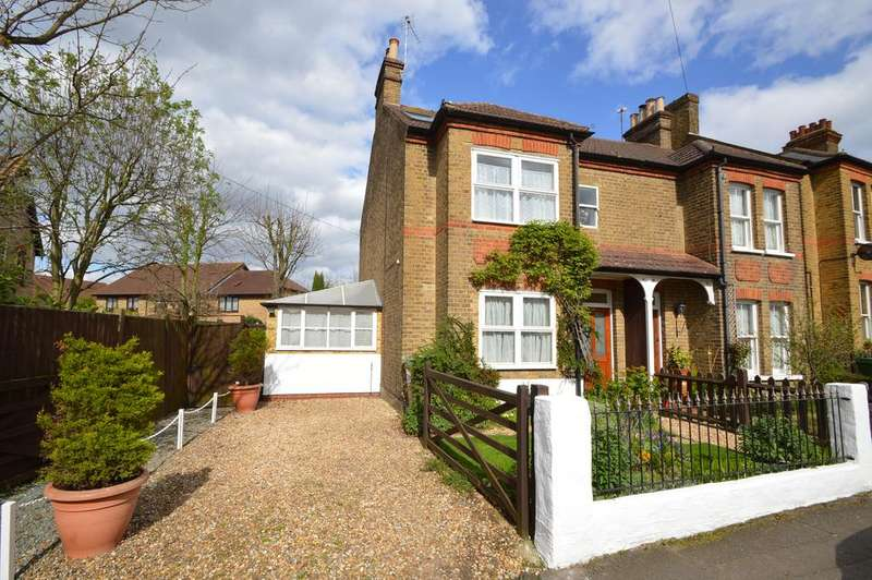 4 Bedrooms Semi Detached House for sale in Manor Road, WALTON ON THAMES KT12