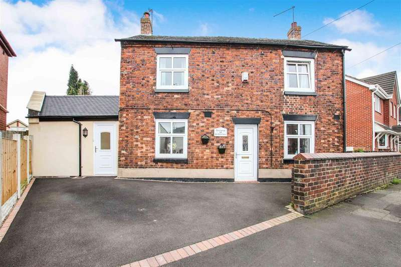4 Bedrooms Detached House for sale in Pitgreen Lane, Wolstanton, Newcastle, Staffs