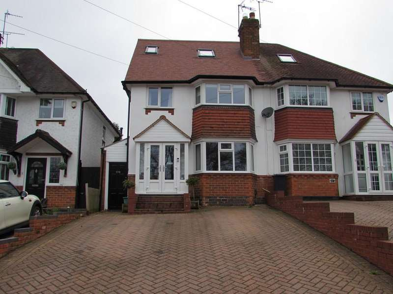 4 Bedrooms Semi Detached House for sale in Widney Manor Road, Solihull