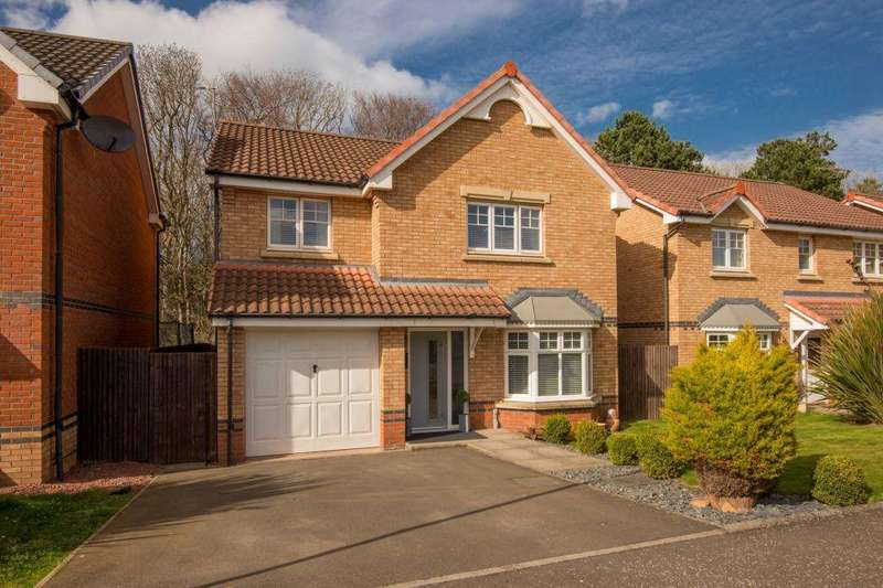 4 Bedrooms Detached House for sale in 10 Steadings Crescent, Dunbar, East Lothian, EH42 1GR