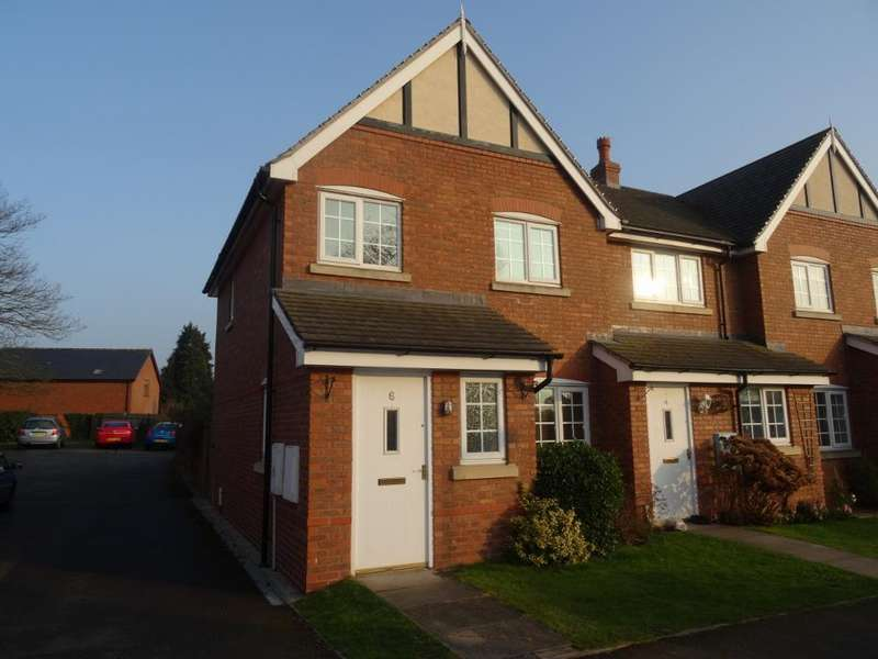 3 Bedrooms Terraced House for rent in The Chestnuts, Cross Houses, Shrewsbury