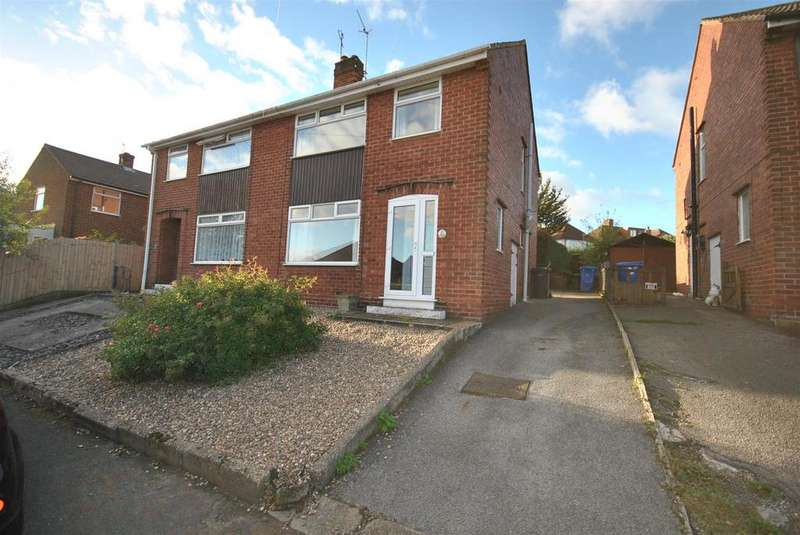 3 Bedrooms Semi Detached House for rent in Johnstone Close, Chesterfield, S40 2RT