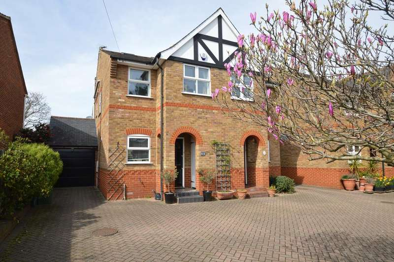4 Bedrooms Semi Detached House for sale in Terrace Road, WALTON ON THAMES KT12