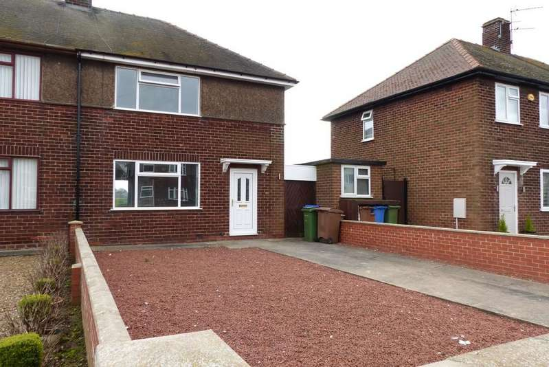2 Bedrooms Semi Detached House for rent in Dempster Avenue, Goole