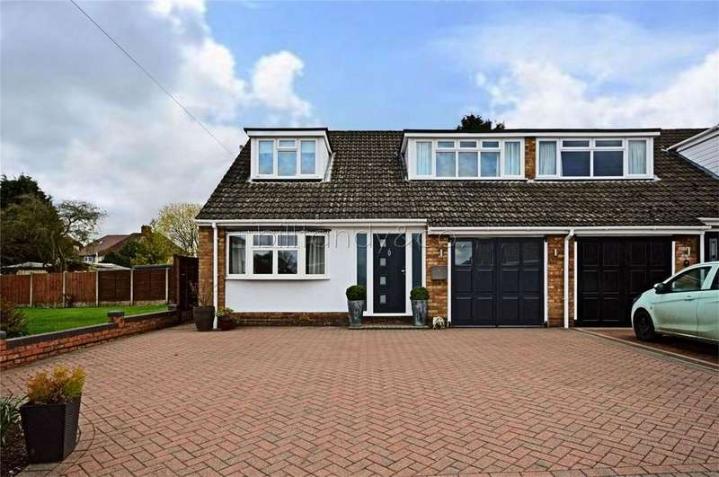 4 Bedrooms Semi Detached House for sale in Deerfold Crescent, Burntwood, Staffordshire