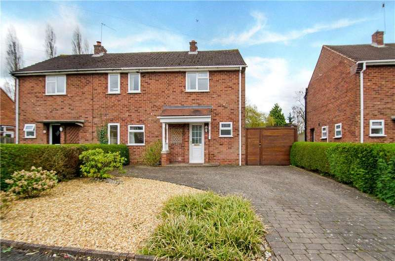 3 Bedrooms Semi Detached House for sale in Hillery Road, Worcester, Worcestershire, WR5