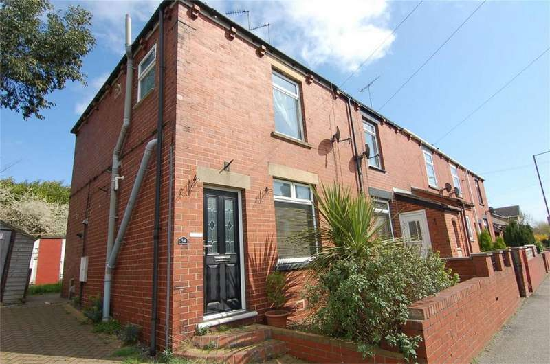 2 Bedrooms End Of Terrace House for sale in School Street, Hemingfield, Barnsley, South Yorkshire