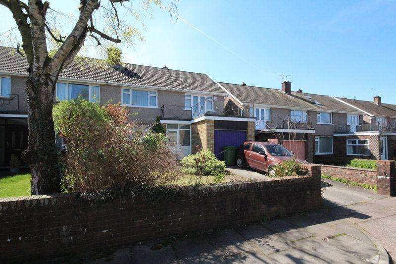 4 Bedrooms Semi Detached House for sale in Highfields, Llandaff