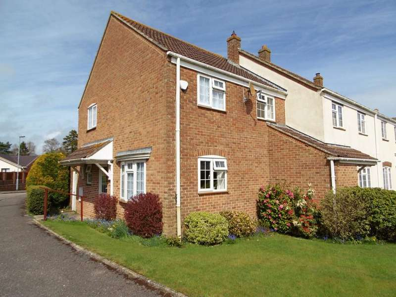 3 Bedrooms End Of Terrace House for sale in Thomas Bassett Drive, Colyford
