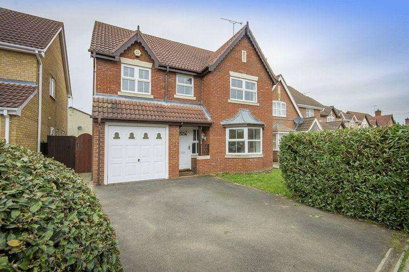 4 Bedrooms Detached House for sale in WOODS MEADOW, ELVASTON