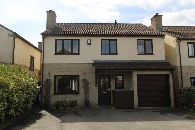 5 Bedrooms Detached House for sale in Ashmead, Temple Cloud, Bristol, BS39 5BG