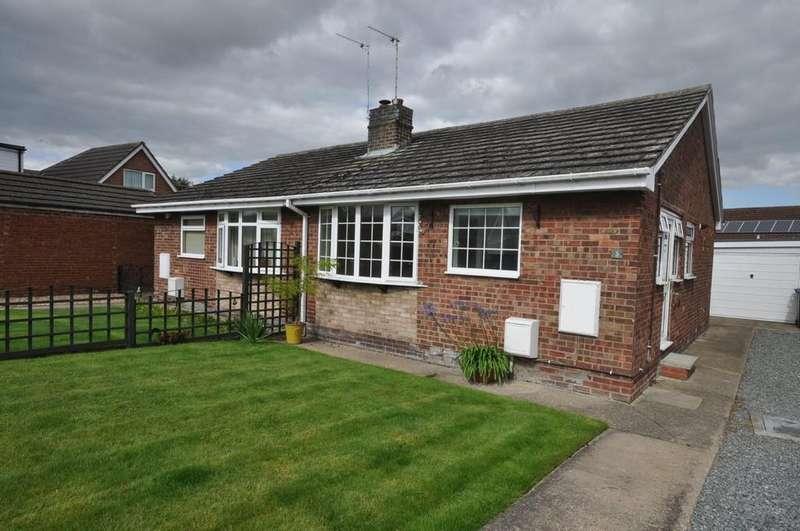 2 Bedrooms Semi Detached Bungalow for rent in Croft Close, Eastrington, Goole