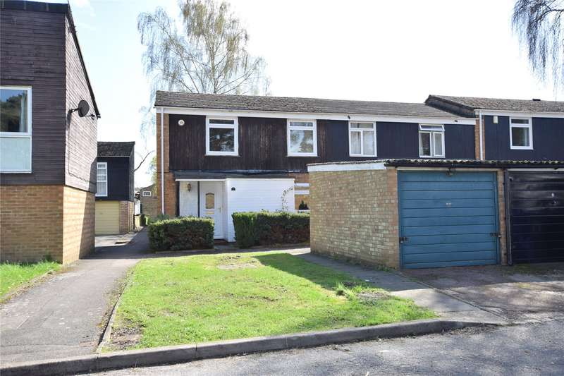 3 Bedrooms End Of Terrace House for sale in Claverdon, Hanworth, Bracknell, Berkshire, RG12