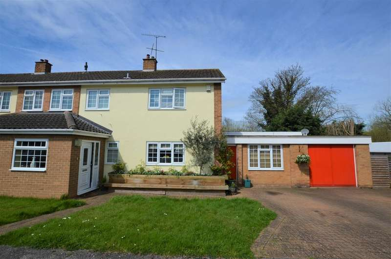 3 Bedrooms Semi Detached House for sale in Hawkenbury, Harlow CM19
