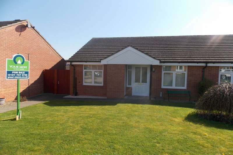 2 Bedrooms Semi Detached Bungalow for sale in Wyegate Close, Birmingham, B36