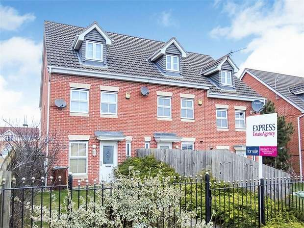 3 Bedrooms End Of Terrace House for sale in Farr Row, Nottingham